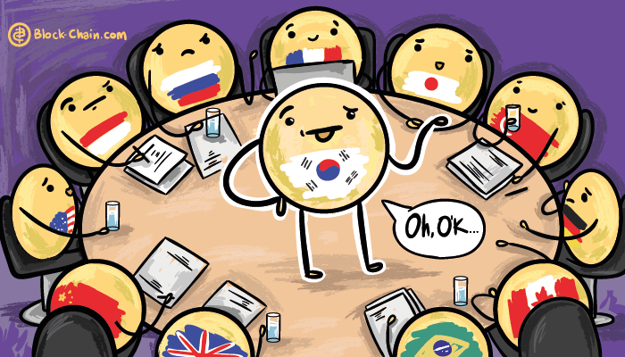 G20 influence made South Korea to low down regulations for cryptocurrencies