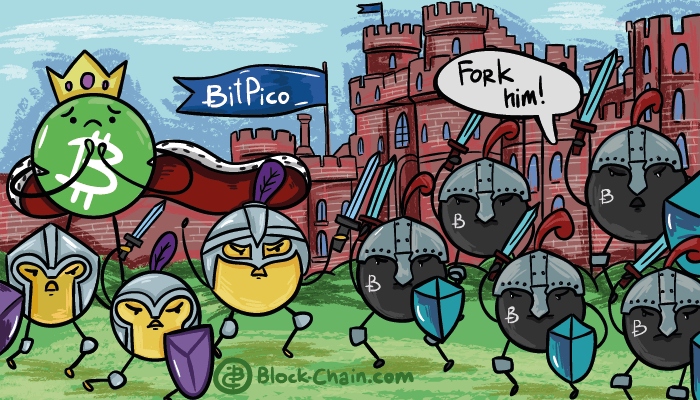 Bitpico followers vs Bitcoin Cash defendes