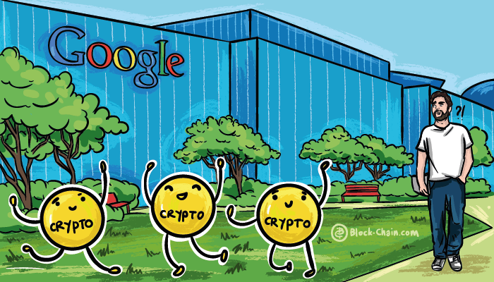 Google starts its own blockchain operated projects